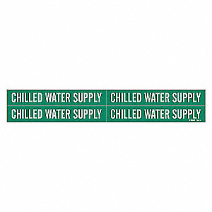 PIPEMARKER 79583 CHILLED WATER SUPP
