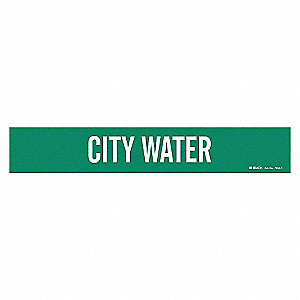 PIPEMARKER 90066 CITY WATER