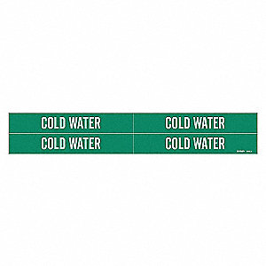 PIPEMARKER 92068 COLD WATER