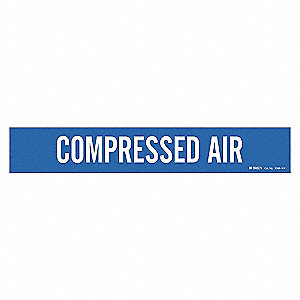 PIPEMARKER COMPRESSED AIR