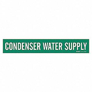 PIPEMARKER 79802 CONDENSER WATER SU