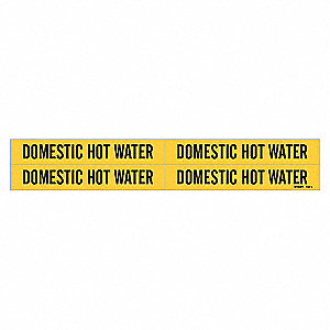 PIPEMARKER 92073 DOMESTIC HOT WATER