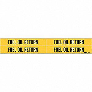 PIPEMARKER 77541 FUEL OIL RETURN