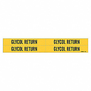 PIPEMARKER 36217 GLYCOL RETURN