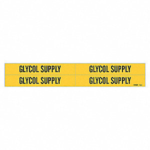 PIPEMARKER 36215 GLYCOL SUPPLY