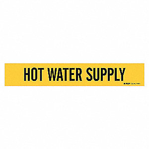 PIPEMARKER 79829 HOT WATER SUPPLY