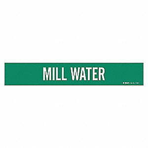 PIPEMARKER 90079 MILL WATER