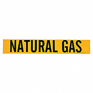 PIPEMARKER 93405 NATURAL GAS