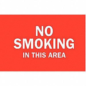 SIGN NO SMOKING ETC