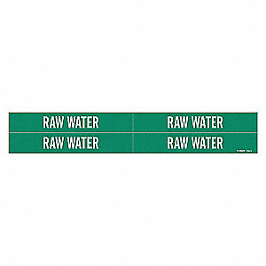 PIPEMARKER 79640 RAW WATER