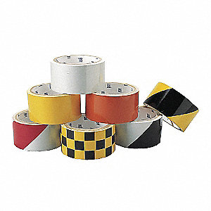 TAPE WARNING CHECK 2X5YD BLK/YLW
