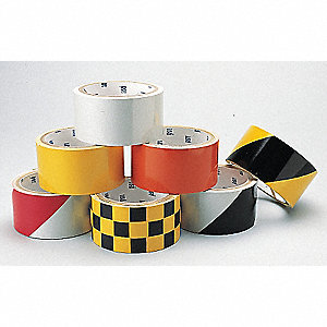 TAPE REFLECTIVE SOLID 2X5YD WHITE