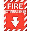 SIGN FIRE N/H 12X9