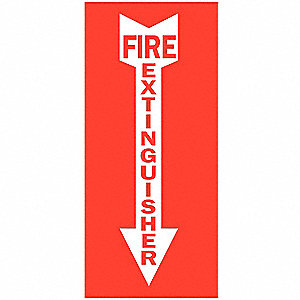 SIGN HIGH VISIBILITY 12X9