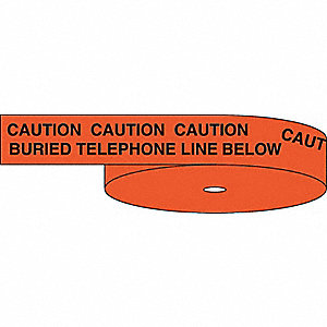 TAPE TELEPHONE 6IN X 1056FT