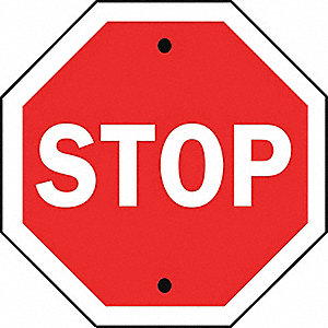 SIGN 36 X 36 STOP