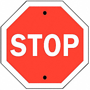 STOP SIGN TRAFFIC STANDARD