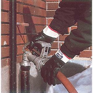 GLOVES INSULATE PVC 14IN CRINKLE GR