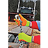 GLOVES HI-VIS NAT. RUBBER PALM COAT