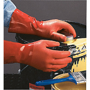 GLOVES PVC 12IN ROUGH OR S