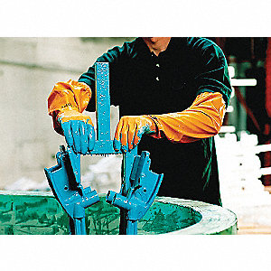 GLOVES NITRILE 26IN LONG YL M