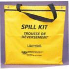 SPILL KIT, OIL ONLY, 30L CAP, NYLON BAG