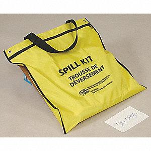 SPILL KT UNIV SORBENT W/DRN CVR 17L