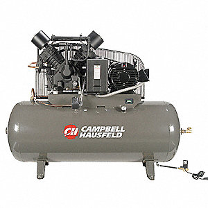 Electric Air Compressor,2 Stage,50 cfm