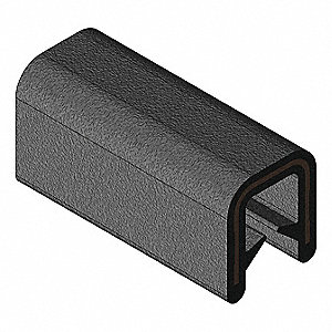 Edge Trim,Alum Clip,0.2 In W,250 Ft