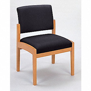 Guest Chair,Armless,Medium,Macro Fabric