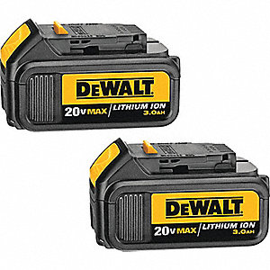 BATTERY 3.0 AH 20V MAX LI-ION 2PK
