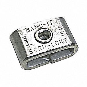 BUCKLE SCRU LOKT S/S 3/8IN