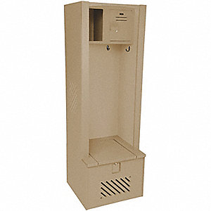 LENOX LOCKER,GEAR,BEIGE, 24X24X72