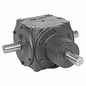 GEAR DRIVE,BEVEL,690 RPM,56 HP,CI