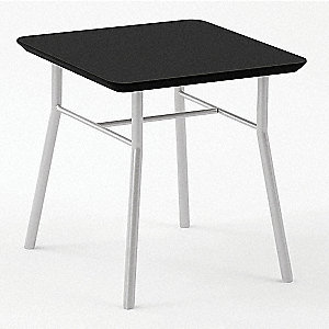 End Table,Black Finish,20x20x20