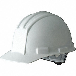 CAP SAFETY RATCHET WHITE