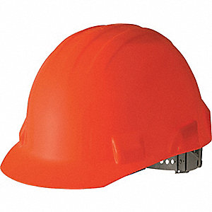CAP SAFETY PINLOCK HI-VIZ ORANGE