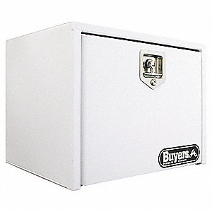 TOOLBOX 18X18X24 SST T-HDL WHT PWDR