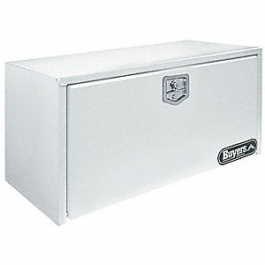 TOOLBOX24X24X36SST T-HDL WHT POWDER