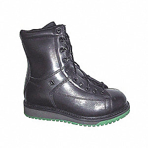 BOOTS IRON WORKER ST/SP BLK SZ10