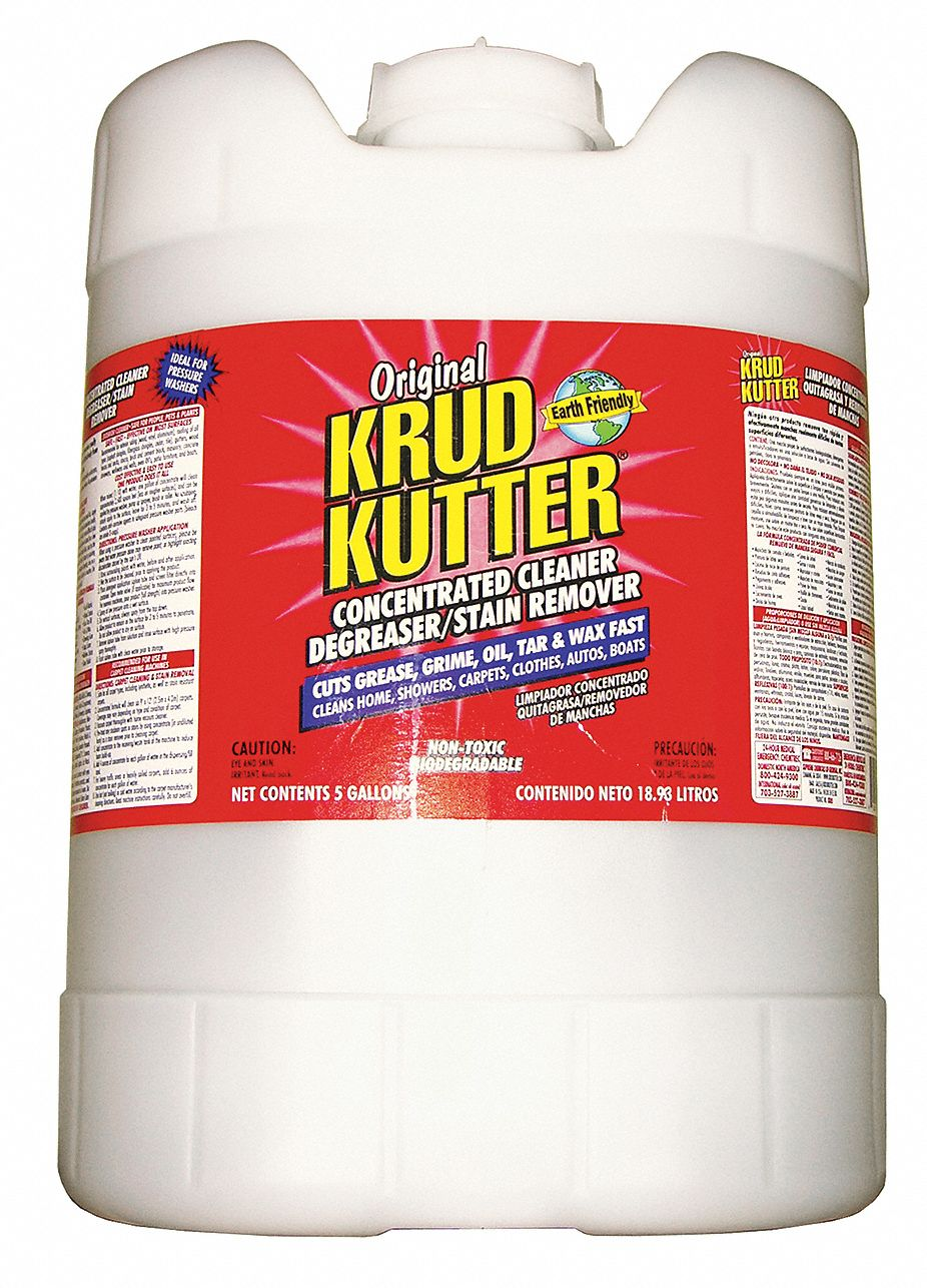Cleaner/Degreaser,  5 gal Cleaner Container Size,  Jug Cleaner Container Type,  Unscented Fragrance
