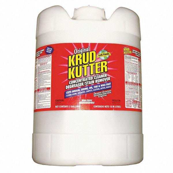 KRUD KUTTER Solvent Cleaner/Degreaser, 5 gal. Pail - 10K006KK05 ...