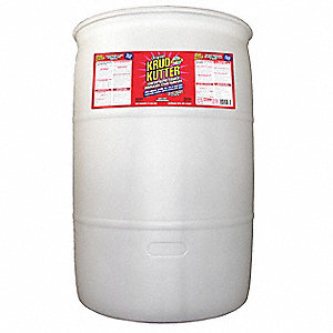Cleaner/Degreaser, 55 gal. Drum, Unscented Liquid, Concentrated, 1 EA
