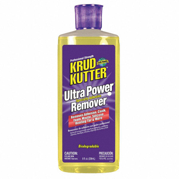 KRUD KUTTER 8 oz. Ultra Power Specialty Adhesive Remover, Orange ...