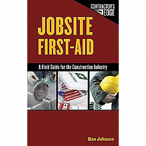 JOBSITE FIRST AID FIELD GUIDE CONST
