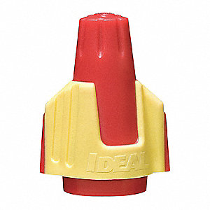 WIRE CONNECTOR,344,RED/YELLOW,PK250