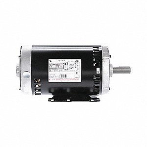 3 HP Belt Drive Motor, 3-Phase, 1725 Nameplate RPM, 200-230/460 Voltage, Magnetek Motor Wiring Diagram Bf on