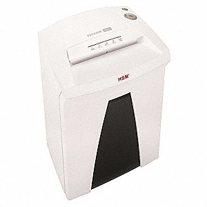 High Security Paper Shredder, Cross-Cut Cut Style, Security Level 6