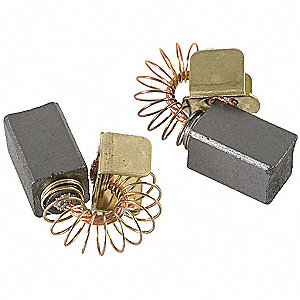 Motor Brush Set,9/16 In L,5/16 In W,PK2