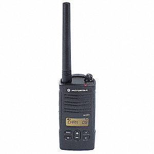 VHF Backlit LCD Portable Two Way Radio, Number of Channels 8
